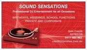 DJ SOUND SENSATION PROFESSIONAL MOBILE DJ