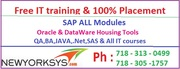 SAP FI CO Training & Placement By Newyorksys.com