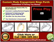 Custom Made Engagement Rings Perth