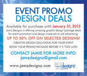 Event Promo Design Deals