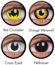 Best range of crazy and circle lenses online at colourvue