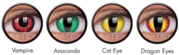 Color Contact Lenses- the best and vivid range in online