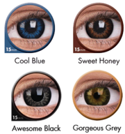 Glow Your Eyes With Glow Contact Lenses - ColourVUE