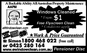 Window Cleaning- Perth,  WA