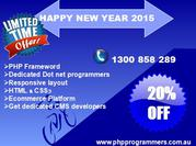 Develop your website with new year special offer