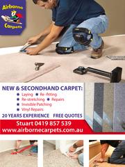 Carpets repairs service in Perth