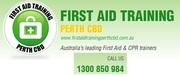 CPR First Aid Certificate Perth - CBD College