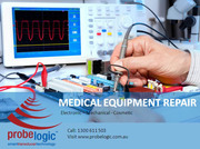 Medical equipment repair,  Electronic, Mechanical and Cosmetic