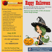Cheap WebSite Design Halloween Deals Only $199