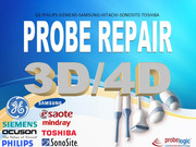 GE,  Philips,  Sonosite,  Toshiba,  Samsung 3D-4D Probe repair
