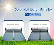Hire Solar Hot Water Plumbers from QA Plumbing for Excellent Services