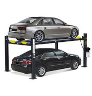4-POST PARKING LIFT - Your True Space Saving Powerhouse