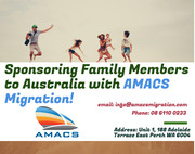 To get your family visa! Find us! AMACS