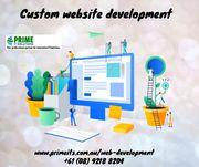 Custom website development | web design