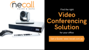 Find Right Video Conferencing Solution for Your Office