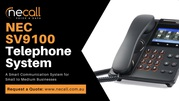 NEC SV9100 Telephone System for Small to Medium Businesses