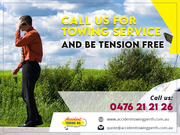 Book Accident Towing Services Perth (04 7621 2126)