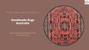 Handmade Rugs Australia