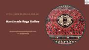 Handmade Rugs Online