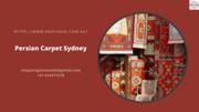 Persian Carpet Sydney
