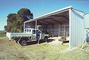 Australian Made Hay Sheds For Sale - All Style Sheds